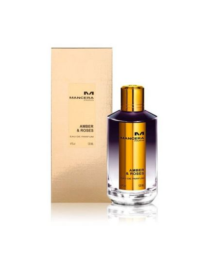 amber and roses by Mancera unisex Eau de Parfum , 120 ML