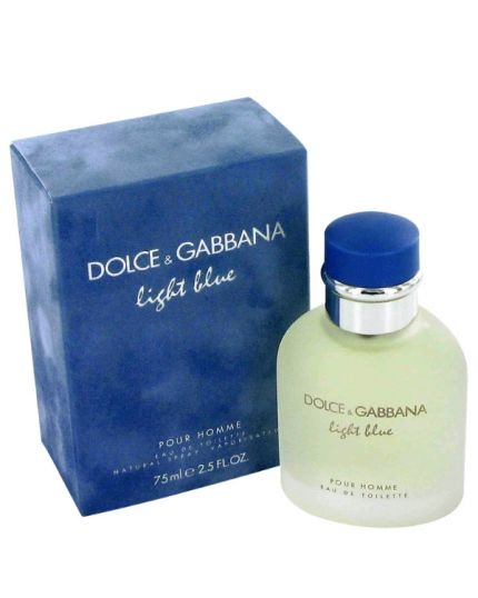 Light Blue by Dolce & Gabbana Eau de tollette For Men 100ml