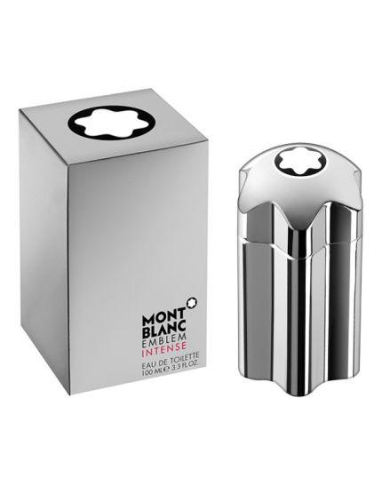 Mont Blanc Emblem Intense Eau De Toilette for Men , 100 ml