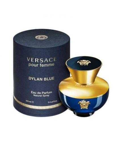 VERSACE POUR FEMME DYLAN BLUE , EDP for women , 100ML