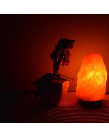 مصباح صخر الهملايا العلاجي - حجم صغير ارتفاع (١٢ - ١٥) سم